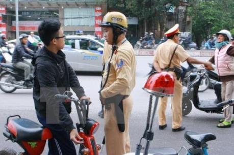 Từ ngày 1/7/2016, xử nghiêm trường hợp xe máy điện chưa đăng ký
