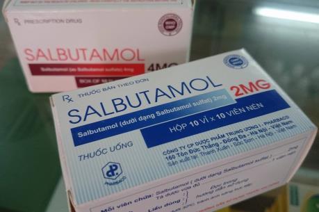Cục Quản lý Dược thông tin phản hồi về quản lý  Salbutamol