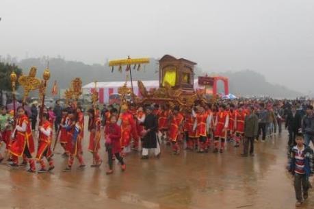 Khai hội Xuân Tây Thiên 2016