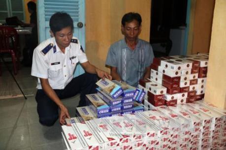 Tây Ninh ngăn chặn hiệu quả nhiều vụ buôn lậu thuốc lá