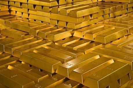 Giá vàng thế giới chiều 23/3 chạm mức thấp nhất của một tuần