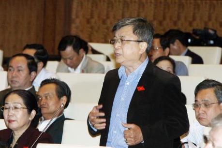 Kỳ họp thứ 11, Quốc hội khóa XIII: Các đại biểu hiến kế chống hạn mặn