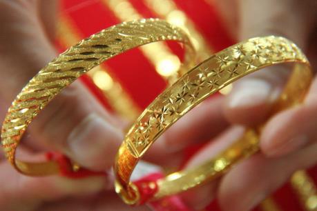 Giá vàng trong nước 25/3 tăng, giảm không đồng nhất