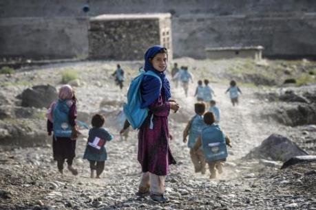 UNICEF: Trẻ em sống trong vùng chiến sự có nguy cơ chậm phát triển trí não