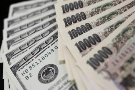 Đồng yen tăng giá so với đồng USD