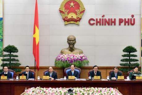 Thủ tướng Nguyễn Tấn Dũng chủ trì Phiên họp Chính phủ Thường kỳ tháng Ba