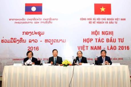 Việt Nam - Lào cần có những chích sách mới thúc đẩy hợp tác đầu tư giữa hai nước