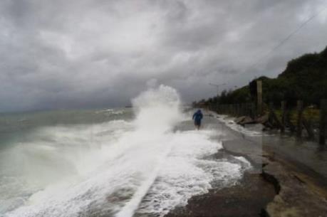 Dự báo thời tiết chiều, tối 27/3: Ảnh hưởng không khí lạnh tăng cường khiến biển động mạnh