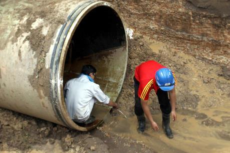 Hà Nội đẩy nhanh tiến độ các dự án cấp nước