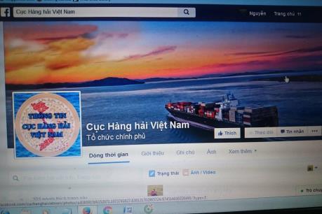 Cung cấp thông tin hàng hải qua Facebook và phần mềm di động