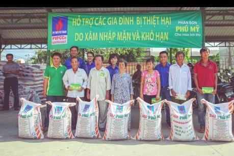 PVFCCo hỗ trợ người dân vùng khô hạn