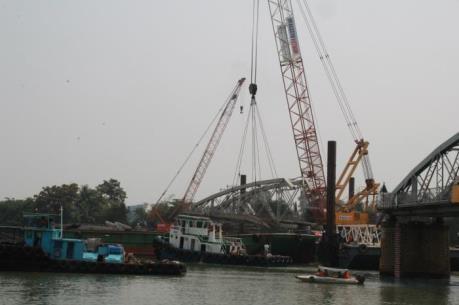 Sẽ thi công xây dựng cầu Ghềnh vào đầu tháng 4/2016