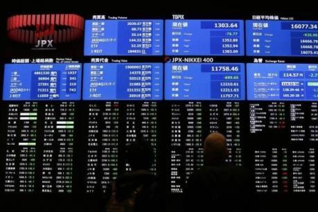 Chứng khoán châu Á 29/3 đi xuống khi chờ động thái từ Fed