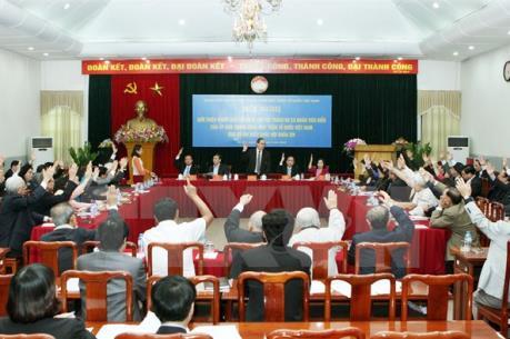 Chấm dứt thí điểm không tổ chức HĐND huyện quận, phường