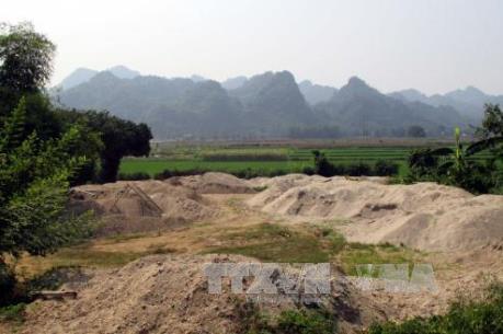 Phú Thọ: Xử lý không triệt để, khai thác đất trái phép vẫn diễn ra công khai