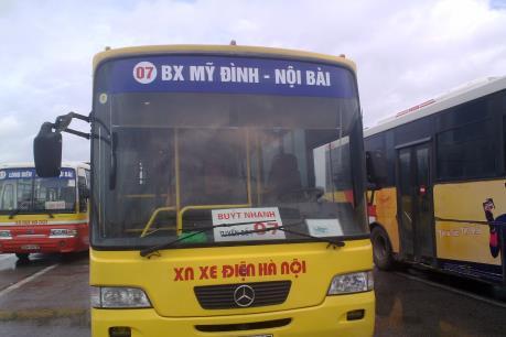 40.000 đồng/lượt xe khách từ trung tâm Hà Nội ra sân bay Nội Bài
