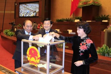 Quốc hội chấp thuận miễn nhiệm chức danh Chủ tịch nước đối với ông Trương Tấn Sang