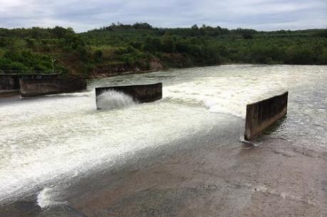 Hồ Dầu Tiếng xả lũ lưu lượng 100m3/s xuống hạ du sông Sài Gòn