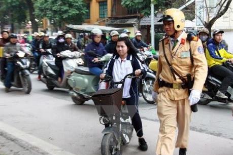Hà Nội: Tăng cường quản lý xe máy điện