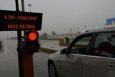Ngày đầu tăng phí cao tốc Hà Nội – Hải Phòng và Quốc lộ 5: Không xảy ra ùn ứ