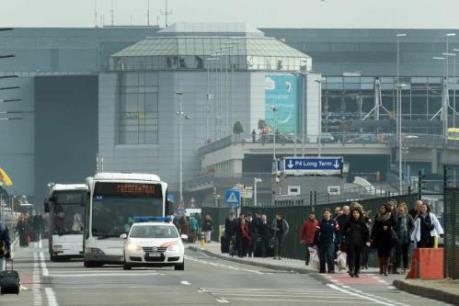 Tin mới vụ nổ tại Brussels: Một phần tòa nhà của Viện nghiên cứu hình sự bị phá hủy