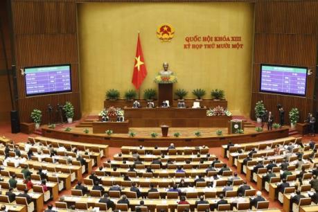 Kỳ họp thứ 11, Quốc hội khóa XIII: Miễn nhiệm một số chức danh lãnh đạo
