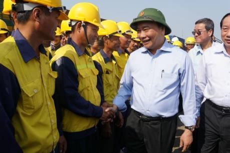 Phó Thủ tướng Nguyễn Xuân Phúc: Đẩy nhanh khắc phục sự cố cầu Ghềnh