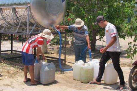 Biến đổi khí hậu: Khốn khó thiếu nước sinh hoạt
