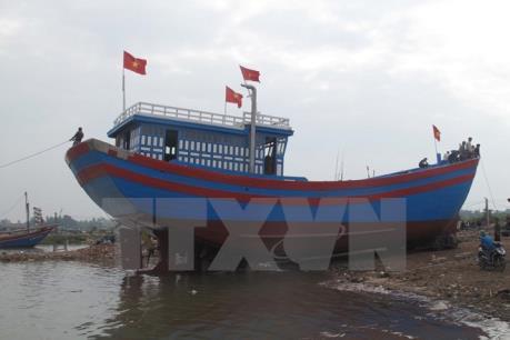 Tầu vỏ thép đầu tiên tại Quảng Trị được đưa vào sử dụng