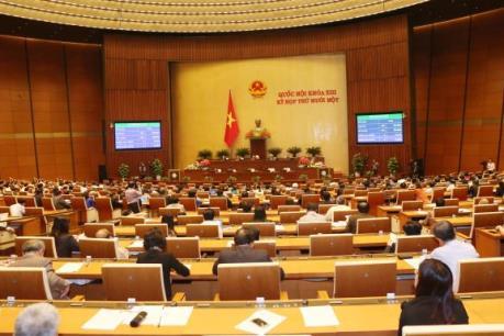 Kỳ họp thứ 11, Quốc hội khóa XIII: Thông qua 4 Luật