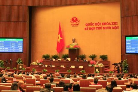 Kỳ họp thứ 11, Quốc hội khóa XIII: Tiến hành quy trình miễn nhiệm Thủ tướng Chính phủ