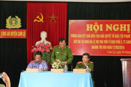 Thực hư vụ cướp vàng tại khu phố 2 thị trấn Cam Lộ, Quảng Trị