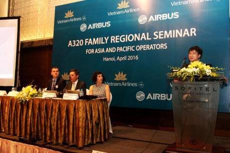Lần đầu tiên một hội thảo kỹ thuật máy bay được tổ chức tại Việt Nam