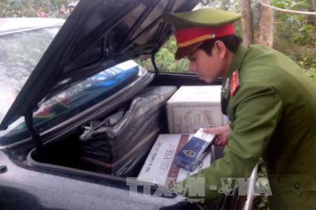 Quảng Ninh thu giữ 69.000 bao thuốc lá điếu nhập lậu