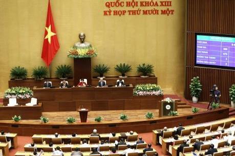 Quốc hội tiến hành quy trình giới thiệu một số chức danh