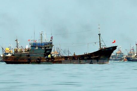 Quảng Bình xử lý 6 tàu đánh cá Trung Quốc vi phạm chủ quyền vùng biển Việt Nam