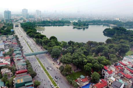Xây dựng bãi xe ngầm trong công viên Thống Nhất (Hà Nội): Cần đảm bảo yếu tố xanh