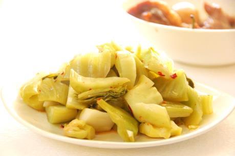 Phát hiện dưa cải muối có chất vàng ô tại Đà Nẵng