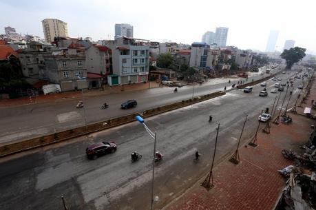 Hà Nội cưỡng chế nhà số 650 đường Bưởi phục vụ dự án đường vành đai 2