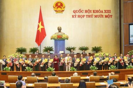Bên lề kỳ họp thứ 11, Quốc hội khóa XIII: Quyết tâm của các tân thành viên Chính phủ
