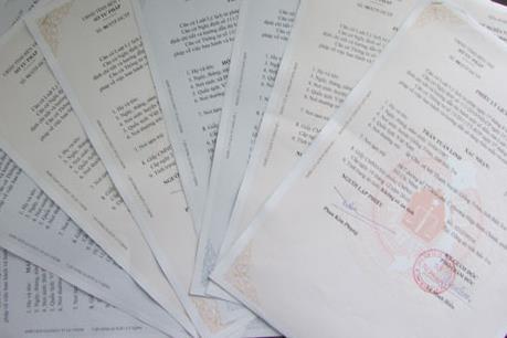 Hà Nội lần đầu triển khai dịch vụ hồ sơ lý lịch tư pháp trực tuyến
