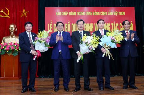 Chủ tịch HĐQT Vietnam Airlines giữ chức Bí thư Đảng ủy Khối doanh nghiệp Trung ương