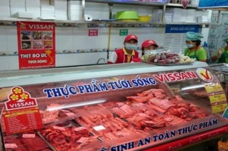Vissan cung cấp 100% thịt lợn VietGap cho thị trường