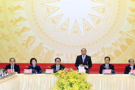Thủ tướng Nguyễn Xuân Phúc chủ trì Phiên họp đầu tiên của Chính phủ mới được kiện toàn