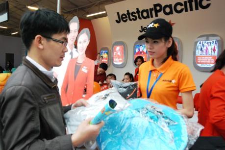 Jetstar Pacific bán vé 190.000 đồng/chặng kích cầu du lịch