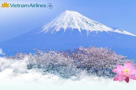 Vietnam Airlines khuyến mại hành trình Hà Nội - Tokyo
