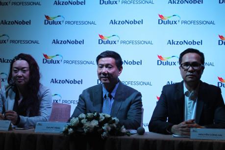 Ra mắt sản phẩm sơn Dulux Professional