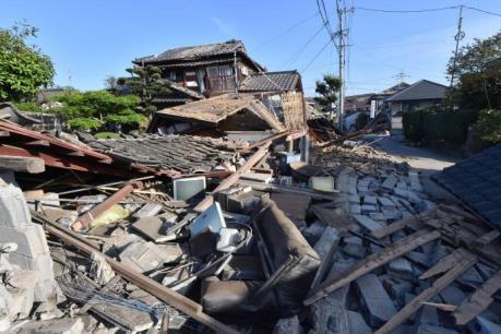 Động đất tại Nhật Bản: Mưa lớn ngăn cản nỗ lực cứu hộ tại khu vực Tây Nam