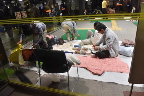 Động đất tại Nhật Bản: Số người thiệt mạng tăng lên 37 người