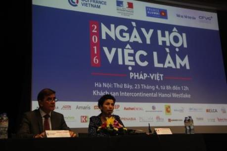Ngày hội việc làm Pháp – Việt 2016: Hơn 200 vị trí tuyển dụng hấp dẫn